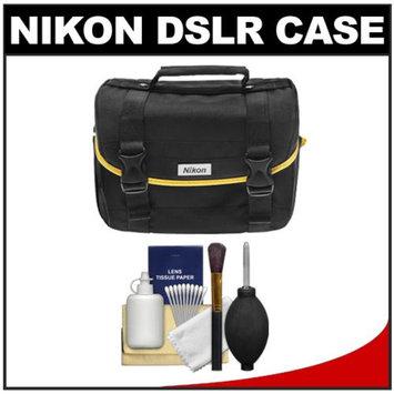 Nikon Starter Digital SLR Camera Case - Gadget Bag + Cleaning Kit for D7100, D7000, D5300, D5200, D5100, D3300, D3200, D3100