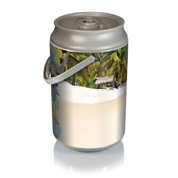 Picnic Time Mega Can Cooler - Beach Scene Can