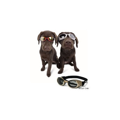 Doggles ILS Lense Dog Goggles in Chrome