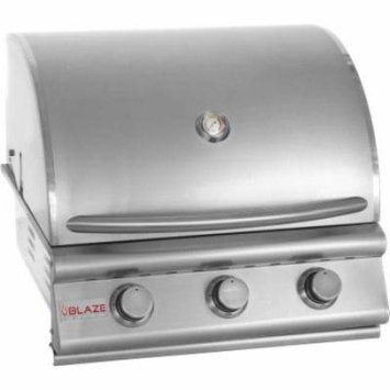 Blaze Outdoor 25� Propane Grill with 3 Commercial Quality Stainless Steel Burners