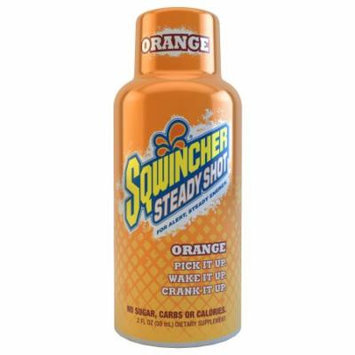 Sqwincher 2 oz Steady Shot Energy Drink, Orange 200500-OR (Pack of 12)