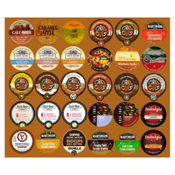 Deluxe Flavored Coffee Single Serve cups For Keurig K Cup Brewer Variety Pack Sampler, 30 count