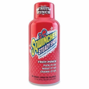 Sqwincher 2 oz Team Primos Steady Shot Energy Drink, Fruit Punch (Pack of 12)