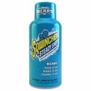 Sqwincher 2 oz Steady Shot Energy Drink, Berry 200502-BE (Pack of 12)
