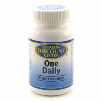 Whole Food Daily Multivitamin By Vitamin Discount Center - 90 Tablets