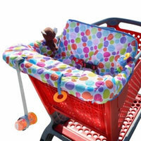 Milliard Shopping Cart Cover, Use As High Chair Cover, Makes The Seat More Comfortable, And Protects Your Baby From Germs
