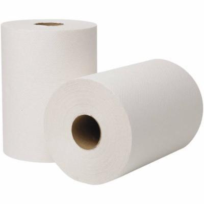 Wausau Paper EcoSoft Universal White Roll Towels, 12 rolls