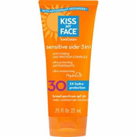 Kiss My Face SPF 30 Sensitive Side 3 in 1 Sunscreen: 0.75oz