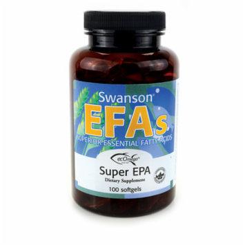 Swanson Super Epa Fish Oil 100 Sgels
