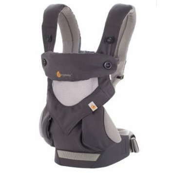 ERGO Baby Four Position 360 Carrier - Cool Air - Carbon Grey