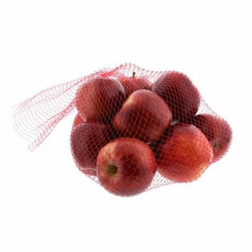 Royal Red Plastic Mesh Produce and Seafood, 24