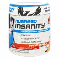 Nubreed Nutrition - Insanity Thermodynamic Superagonist Powder Mango Orange - 9.34 oz.