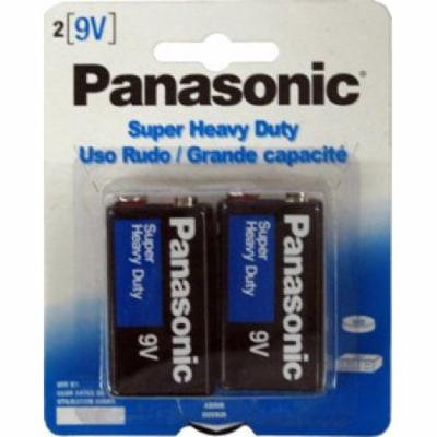 Panasonic 9V Heavy Duty 96 Pack (48 Cards - 2 Batteries Per Card) + FREE SHIPPING!