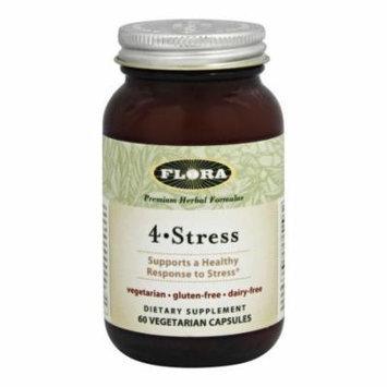 Flora - 4 Stress - 60 Vegetarian Capsules