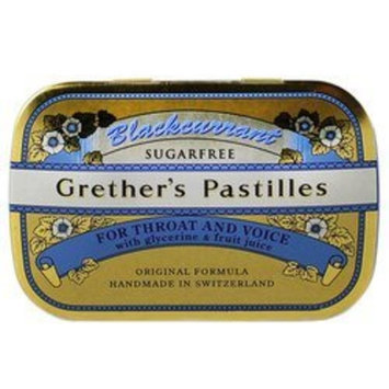 Grether's: Black Currant Pastilles Sugarfree, 15 oz