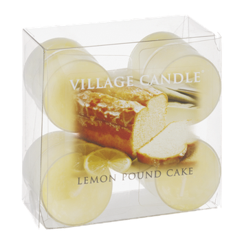 Village Candle Tealights Lemon Pound Cake - 10 CT
