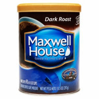 Maxwell House Ground Coffee, Dark Roast, 10.5 oz