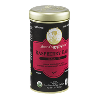 Zhena's Gypsy Tea Black Tea Sachets Raspberry Earl - 22 CT