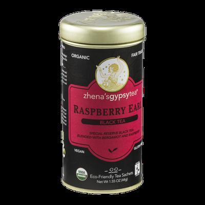 Zhena's Gypsy Tea Black Tea Sachets Raspberry Earl - 22 CT