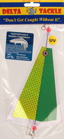 Gibbs Inline Flasher - Green Chartreuse Prism