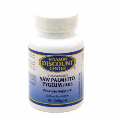 Saw Palmetto Pygeum Plus by Vitamin Discount Center 60 Softgels