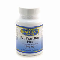 Red Yeast Rice Plus 600mg By Vitamin Discount Center - 60 Capsules