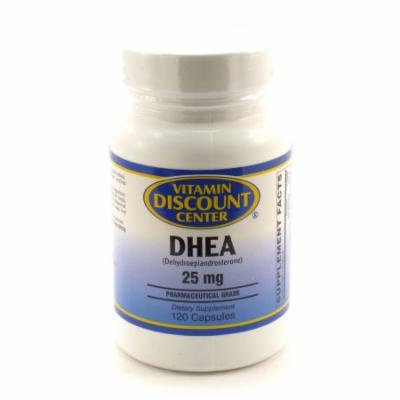 DHEA 25mg by Vitamin Discount Center - 120 Capsules