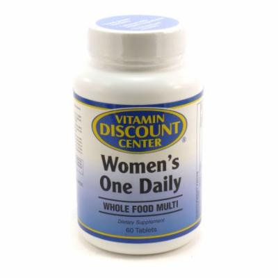 Women's Whole Food Daily Multivitamin By Vitamin Discount Center - 60 Tablets