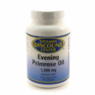 Evening Primrose Oil 1300 mg by Vitamin Discount Center - 60 Softgels