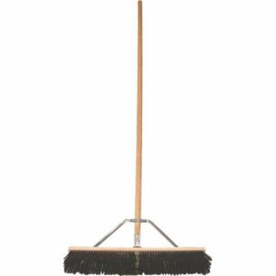 24IN HARDPOLY CONTR BROOM