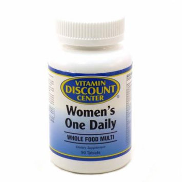 Women's Whole Food Daily Multivitamin By Vitamin Discount Center - 90 Tablets