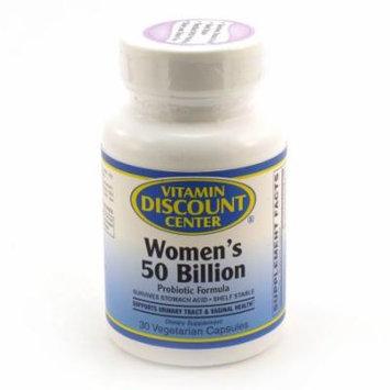 Women's 50 Billion by Vitamin Discount Center - 30 Capsules