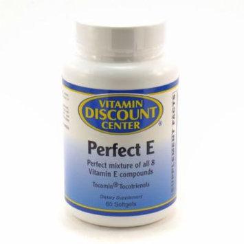Perfect E Vitamin E Mixed Tocotrienols by Vitamin Discount Center - 60 Softgels