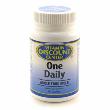 Men's Whole Food Daily Multivitamin By Vitamin Discount Center - 60 Tablets