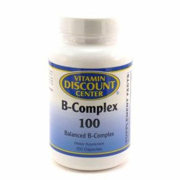 B-Complex 100 by Vitamin Discount Center - 100 Capsules Vitamin B
