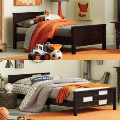 Baby Relax Phases and Stages Toddler to Twin Convertible Bed, Choose Your Color