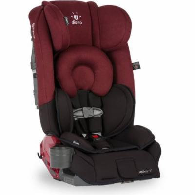 Diono Radian rXT Convertible Car Seat and Booster, Black Scarlett