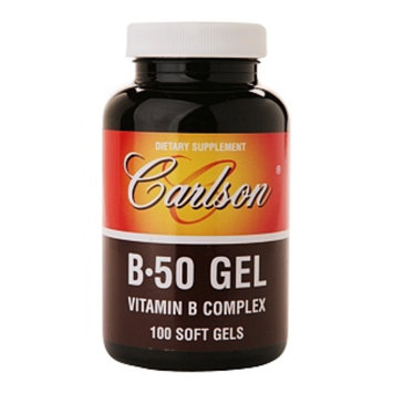 Carlson B-50 Gel Vitamin B Complex