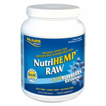 North American Herb and Spice Nutrihemp Raw Blueberry Extreme Multivitamins, 800 Gram