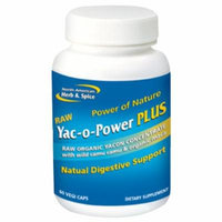 North American Herb and Spice Yac-O-Power Plus Supplement, 60 Count