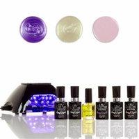 UV-Nails LED Lamp and Gel Nail Polish Starter Kit V10-B-17