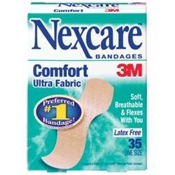 3M Nexcare Comfort Fabric Bandage 35 Count