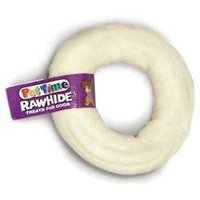 Ims Trading Corporation RAWHIDE DONUT 3-4 IN NTRL 200