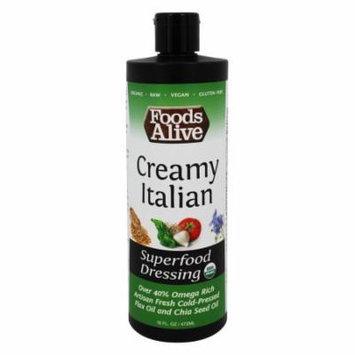 Foods Alive - Organic Superfood Dressing Creamy Italian - 16 oz.