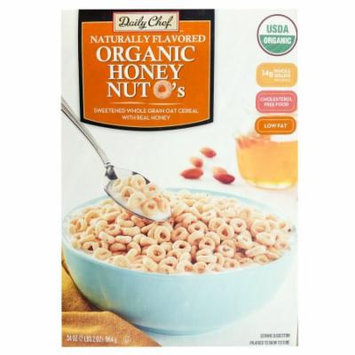 Daily Chef Naturally Flavored Organic Honey Nut O's (34 oz.)