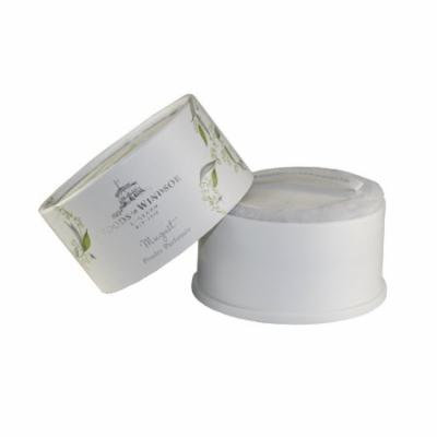 Lily Of The Valley. Body Dusting Powder With Puff 3.5 Oz for Women by Woods Of Windsor