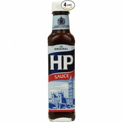 HP Brown Sauce England, 9-Ounce Bottles (Pack of 4)