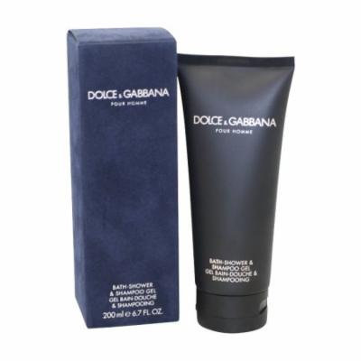 Dolce & Gabbana Bath-shower & Shampoo Gel 6.7 Oz / 200 Ml for Men by Dolce & Gabbana