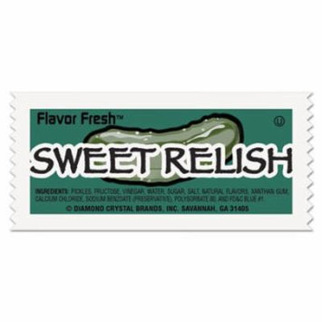 Flavor Fresh Relish Packets, .317oz Packet, 200/Carton 76019