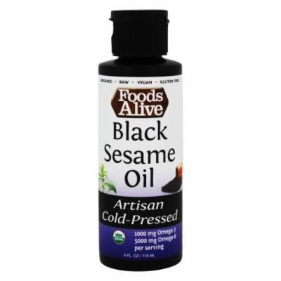 Foods Alive - Organic Black Sesame Oil - 4 oz.